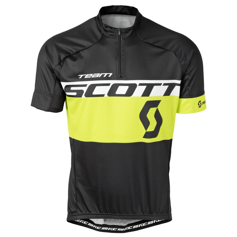 Джерси с коротким рукавом SCOTT RC Team Black/Yellow 2016