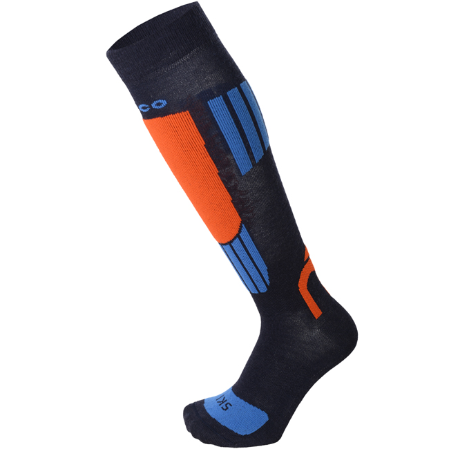 Носки горнолыжные MICO Kid Ski Socks in merino wool Blue (19/20)