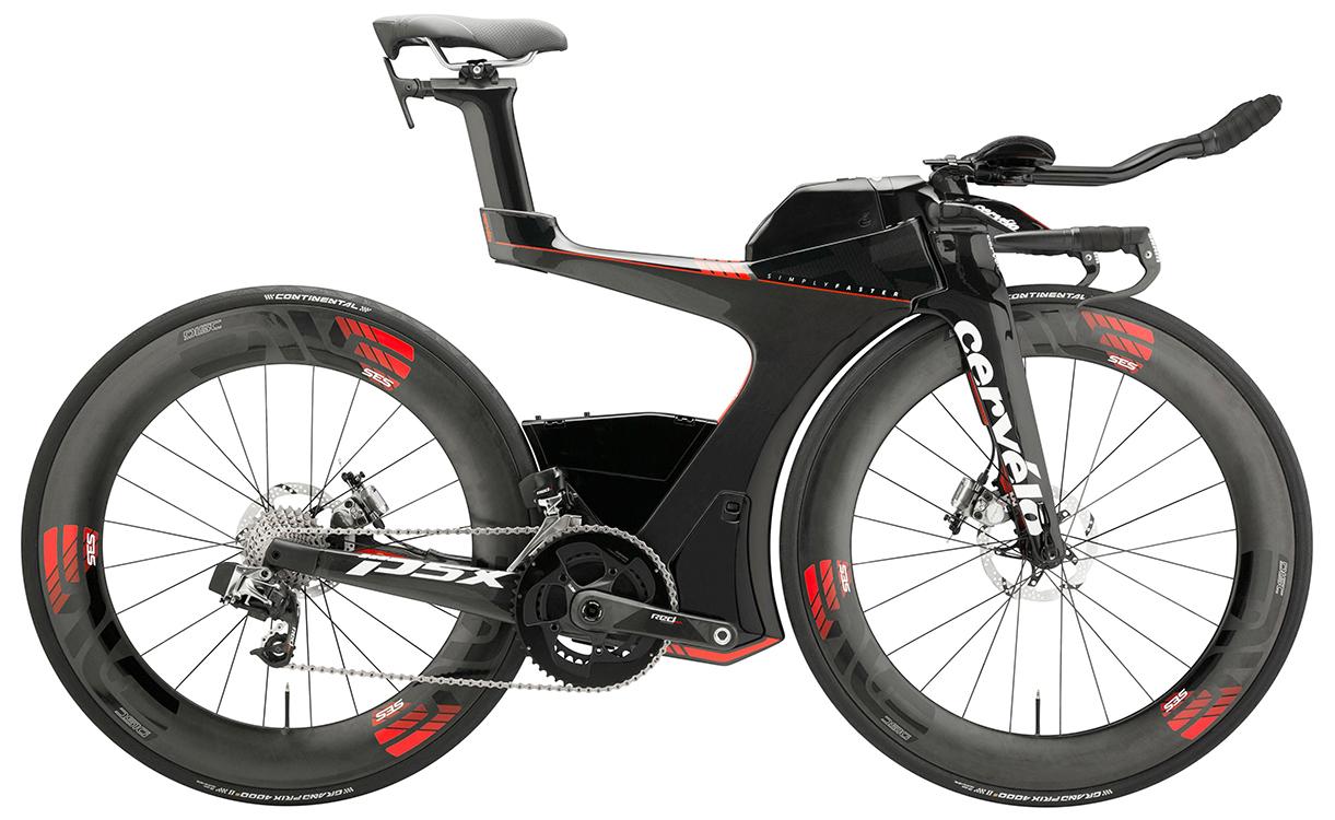 Велосипед CERVELO P5X eTAP - bicicletas más caras del mundo.