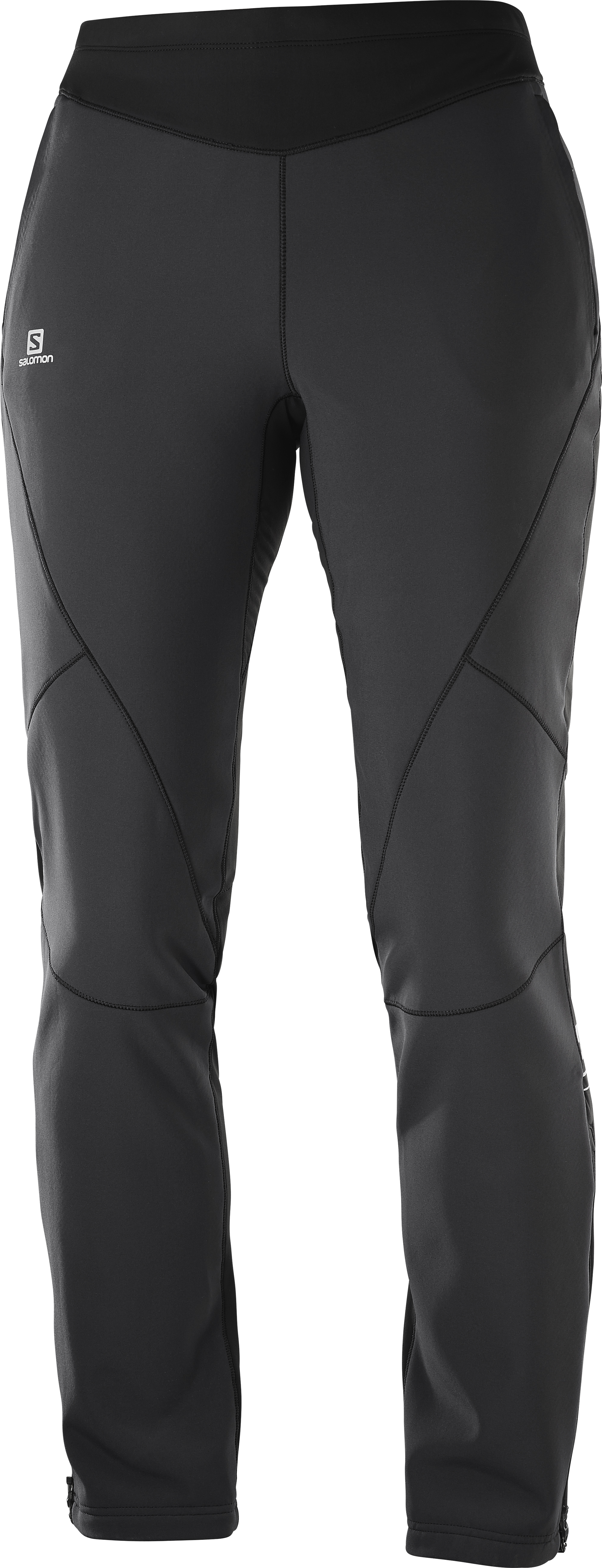 Штаны для беговых лыж SALOMON Lightning Warm SShell Pant W Black (19/20)