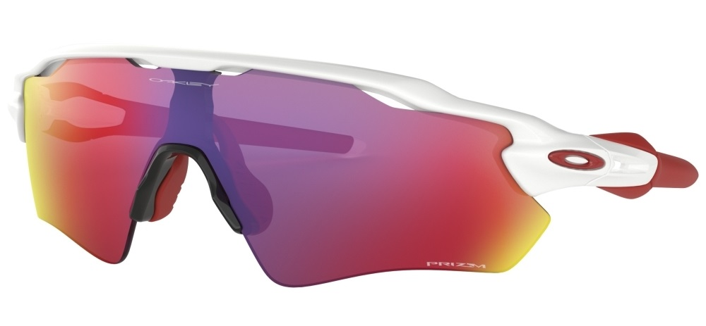 Очки OAKLEY Radar Ev Path Polished White/Prizm Road, Линзы: S2