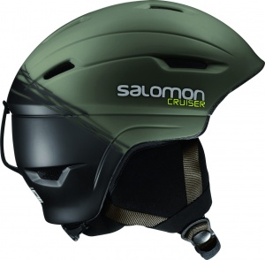 Шлем SALOMON Cruiser 4D Swamp/Black (16/17)