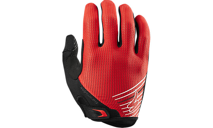 Перчатки SPECIALIZED Body Geometry Ridge WireTap Red ()