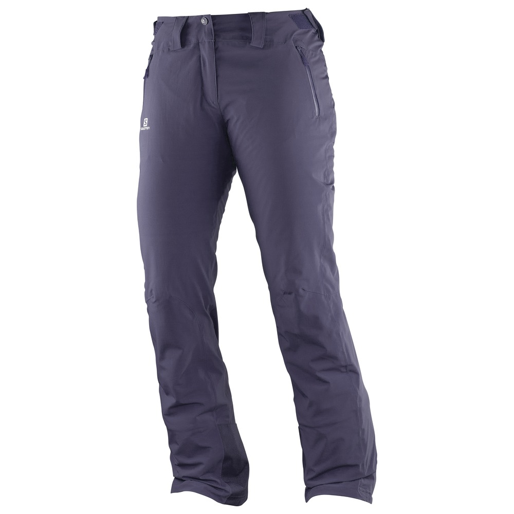 Штаны горнолыжные SALOMON Iceglory Pant W Nightshade Grey  (16/17)