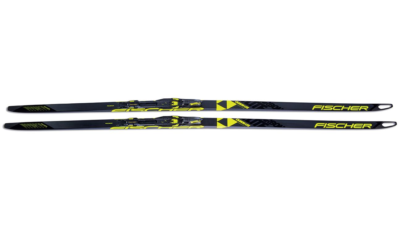 Беговые лыжи FISCHER Carbonlite Skate H-Plus Extra Stiff (18 19 ... 9b611b702dd