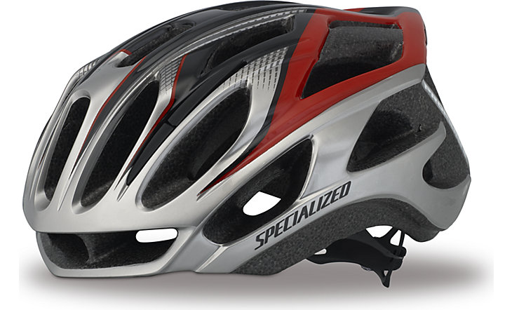 Шлем SPECIALIZED Propero II Silver/Red (2014)