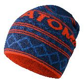 Превью Шапка ATOMIC ALPS SLOUCH BEANIE Blue/Red (16/17)