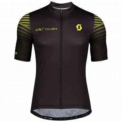 Джерси с коротким рукавом SCOTT RC Team 10 Black/Sulphur Yellow