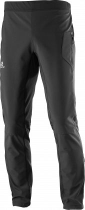 Штаны для беговых лыж SALOMON RS Warm Softshell Pant M Black