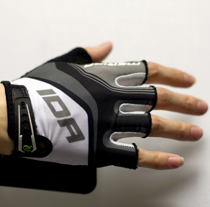 Перчатки MERIDA GH203 Short fingers Race (Gray) ()