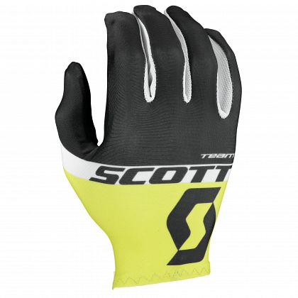 Перчатки SCOTT RC Team Long Finger black/yellow (2016)