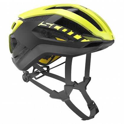 Шлем велосипедный SCOTT Centric Plus RC Yellow/Dark Grey