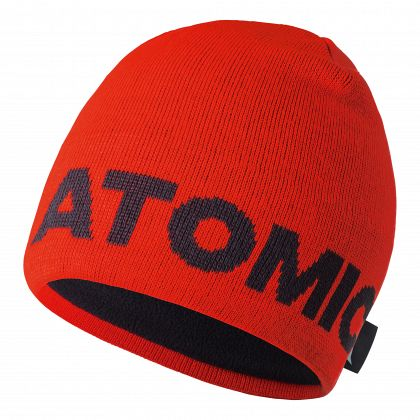 Шапка горнолыжная ATOMIC ALPS BEANIE Bright Red/Black (18/19)