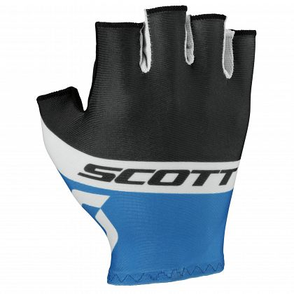 Перчатки SCOTT RC Team Short Finger Black/Blue (2016)
