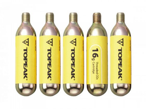 Баллоны 16G СО2 для насоса TOPEAK Threaded CO2 Cartridge