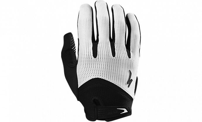 Перчатки SPECIALIZED Body Geometry Gel Long Finger White ()