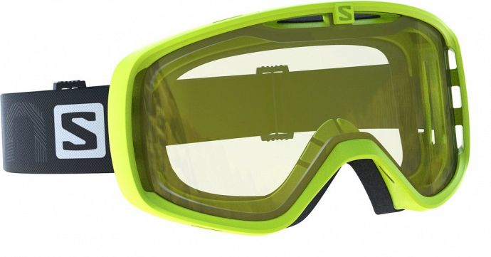 Маска горнолыжная SALOMON Aksium Aсс Acid Lime/Lo Light (17/18)