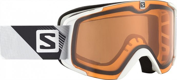 Маска SALOMON X-View Access White/Orange (2015)